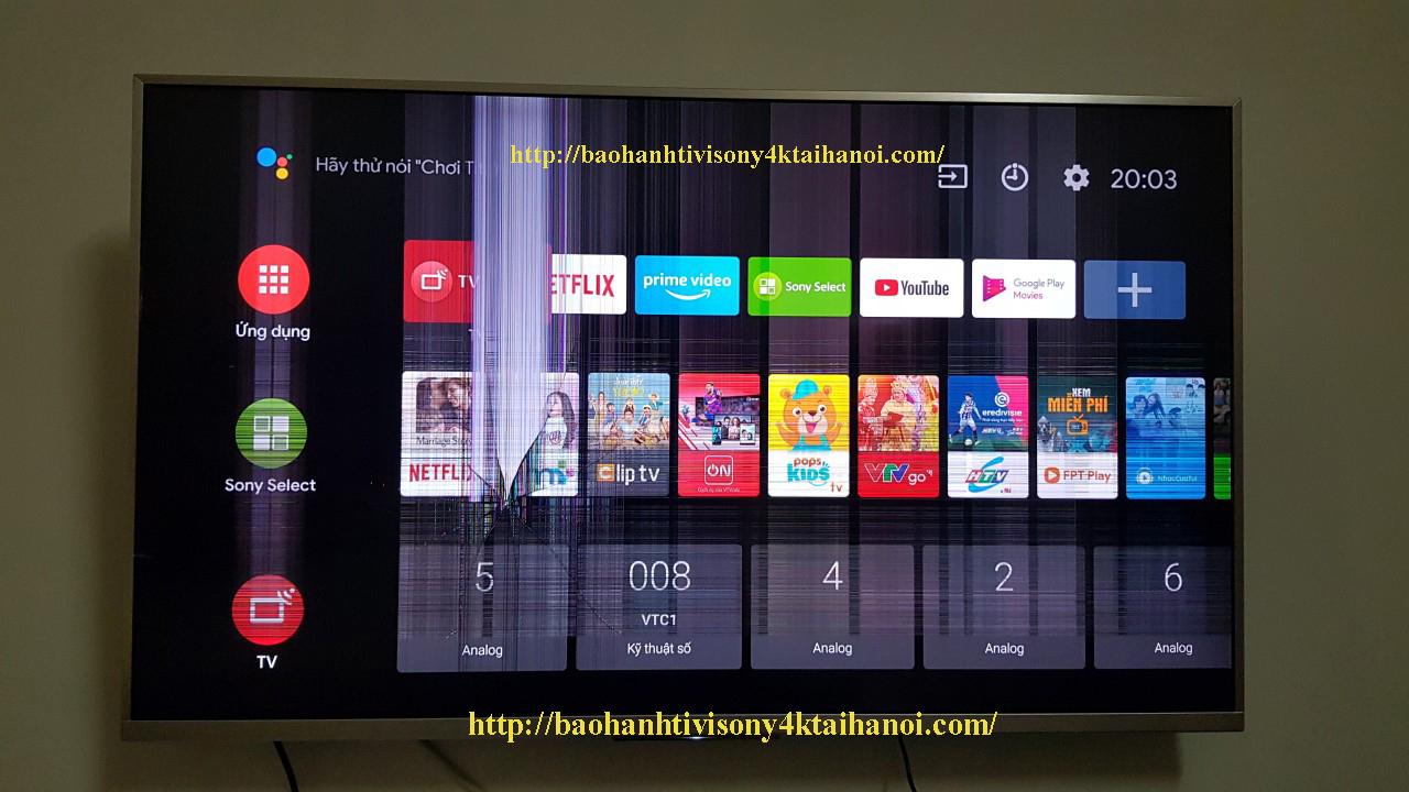 giá thay màn hình tivi sony