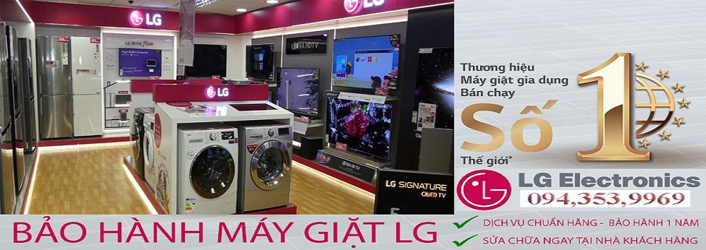 bảo hành máy giặt LG tại hà nội