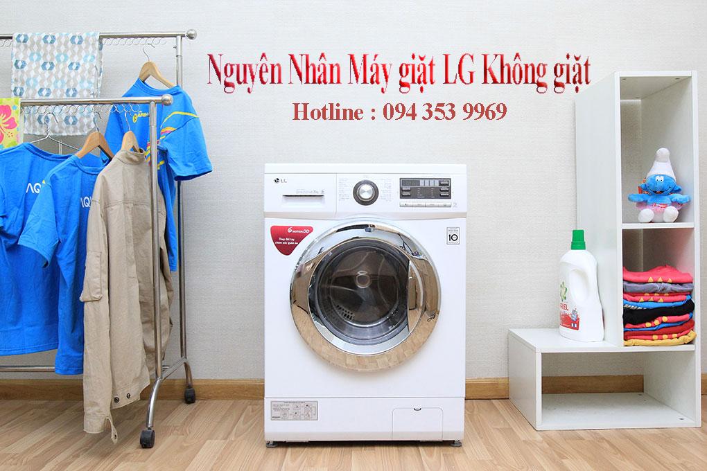 nguyên nhân máy giặt không giặt được